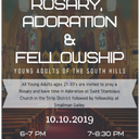 Young Adults of the South Hills - Rosary, Adoration & Fellowship