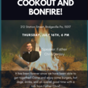 Steel City Young Adults - Cook Out and Bonfire!