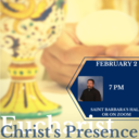 The Four Presences of Christ at Mass