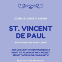 St Vincent de Paul Meeting