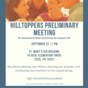 Hilltoppers Preliminary Meeting