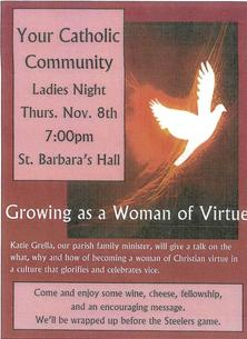 Your Catholic Community Ladies Night
