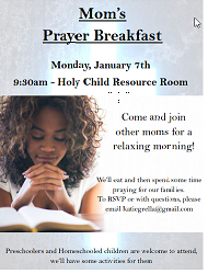 Mom's Prayer Breakfast