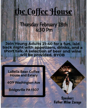 Young Adult Night at the Coffee House