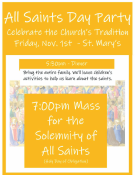 All Saint's Day Party