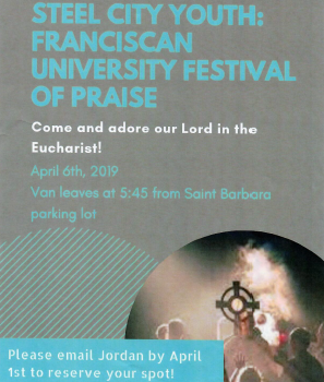 Steel City Youth: Franciscan University Festival of Praise