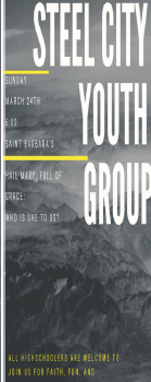 Steel City Youth Group Mtg