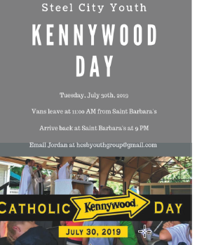 Steel City Youth Kennywood Day