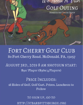 Golf Outing Benefits the Youth Group