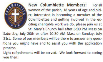 New Columbiette Members