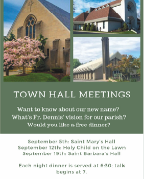 Town Hall Meeting - Holy Child