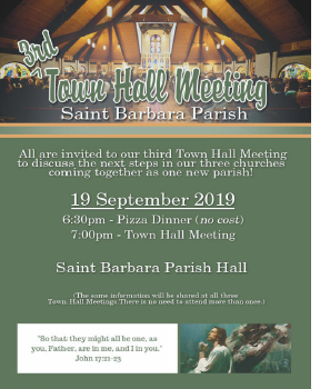 Town Hall Meeting - St Barbara