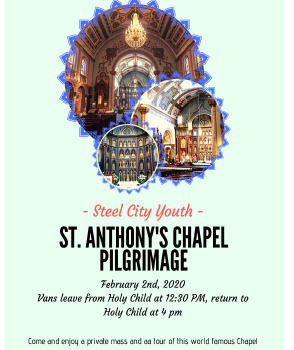 Steel City Youth - St Anthony's Chapel Pilgrimage