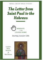 The Letter from St Paul to the Hebrews