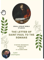 The Letter of St Paul to the Romans