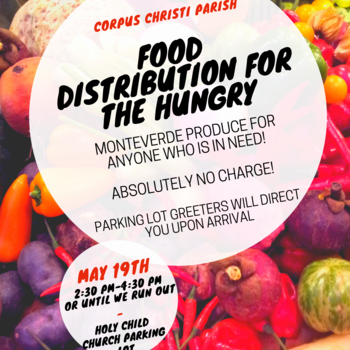 Corpus Christi Food Distribution for the hungry