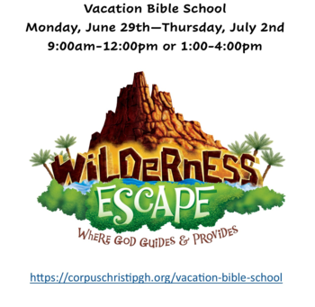 Vacation Bible School - 2nd Session