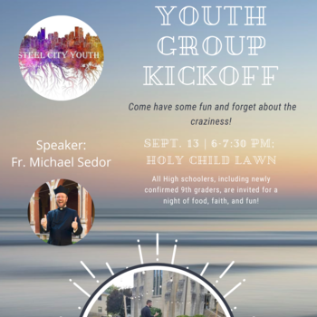 Youth Group Kick Off