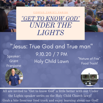 """Get to Know God"" - Under the Lights!"