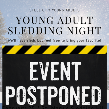 Young Adult Sled Riding POSTPONED