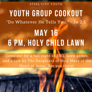 Youth Group Cook Out