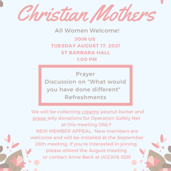 Christian Mothers