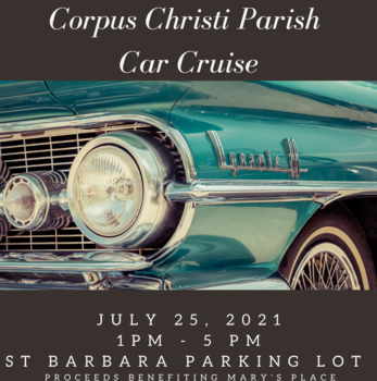 July 25 car cruise cancelled due to rain