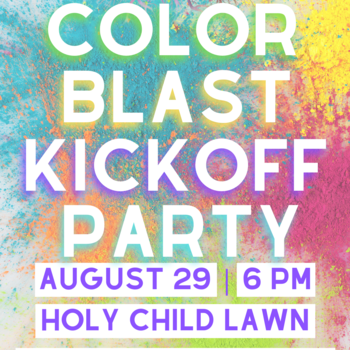 Color Blast Youth Group Kick Off Party