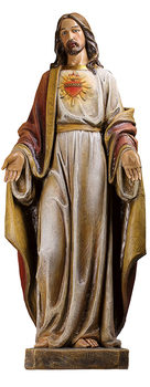 New Sacred Heart of Jesus Statue