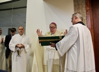 Bishop Blesses New Facilities