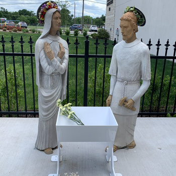 Dedication of the Shrine for the Unborn
