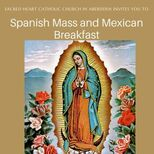 Our Lady of Guadalupe Feast Spanish Confession, Mass and Breakfast