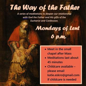 The Way of the Father Lenten Meditations