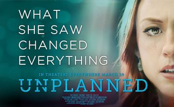Free Screening of the movie 'Unplanned'