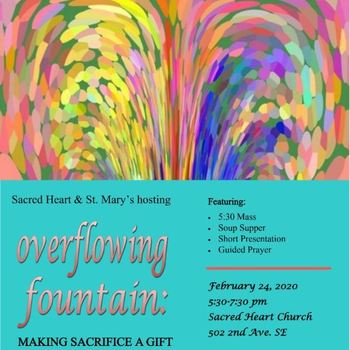 """Overflowing Fountain"" Lenten Women's Retreat"