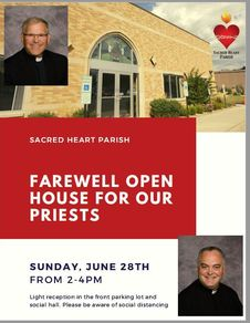 Farewell Open House for our Priests