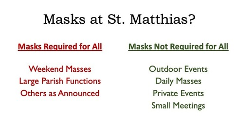 Current Mask Policy