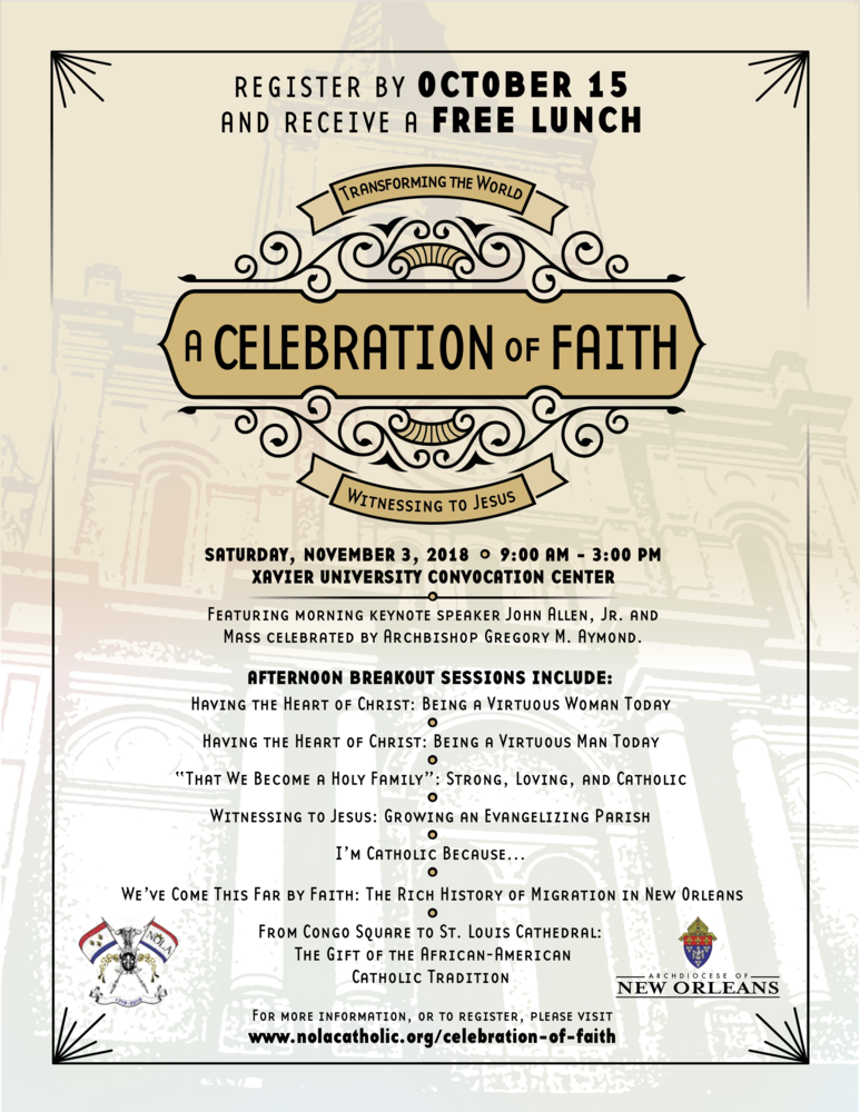 A Celebration of Faith