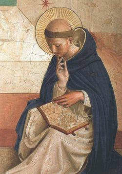 St. Dominic by Fra Angelico