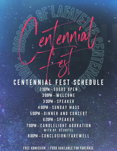 Diocese of Lafayette Centennial Fest