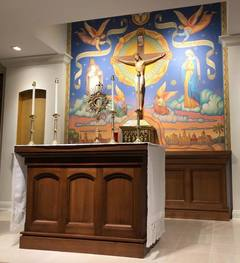 Tulane's New Catholic Chapel Reveals A Blossoming Of Faith