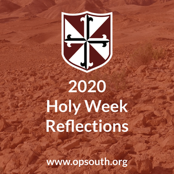 Wednesday of Holy Week 2020
