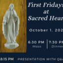 First Fridays at Sacred Heart