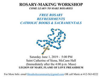 ROSARY-MAKING WORKSHOP