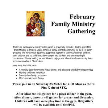 Family Ministry Gathering