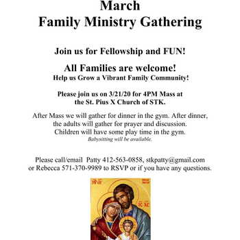 Family Ministry Night