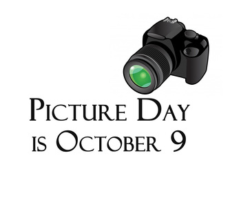 Picture Day is Wed. Oct. 9!