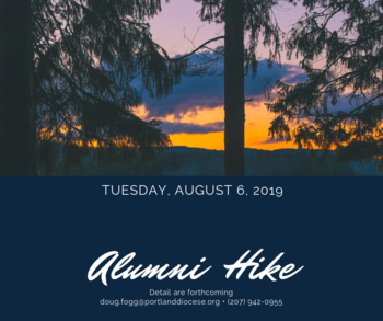 Alumni Hike (Aug. 6: Save the Date!)