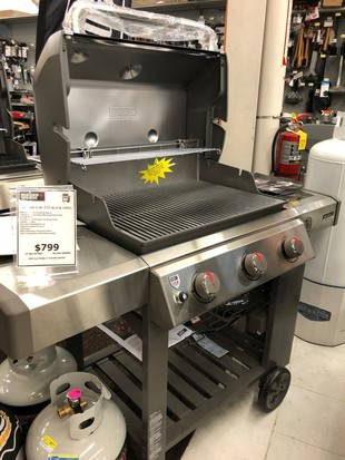DELUXE WEBER GAS GRILL