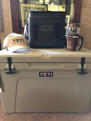 YETI COOLER PACKAGE!